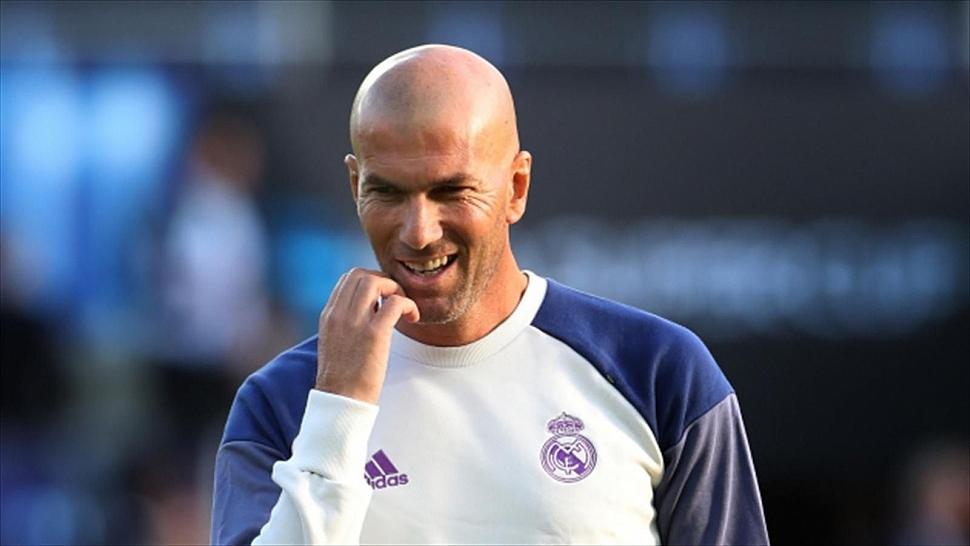 Зидан тренер Реала