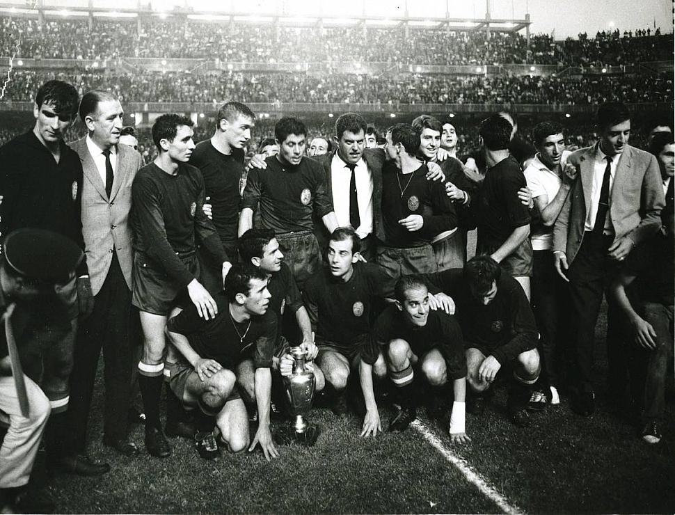 Сборная Испании Чемпионат Европы 1964