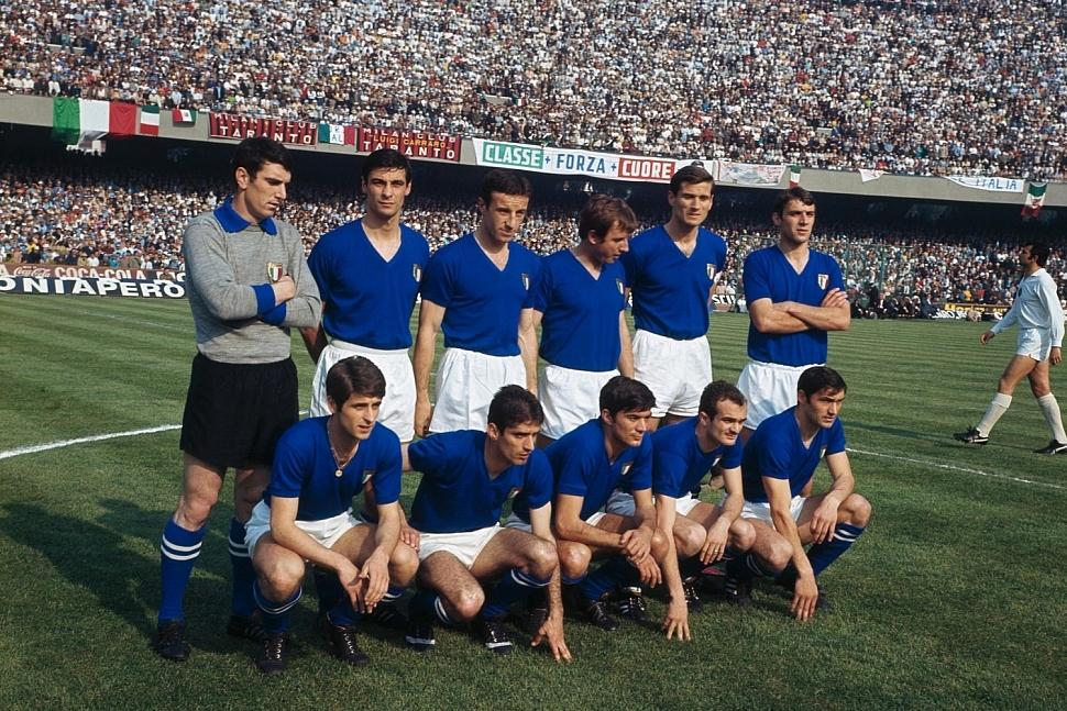 Сборная Италии Чемпионат Европы 1968