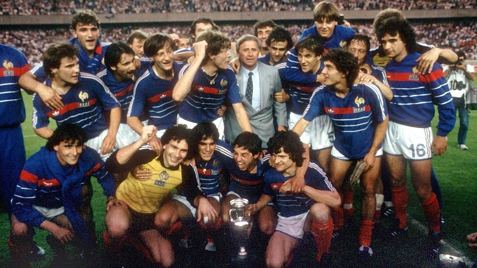Сборная Франции Чемпионат Европы 1984