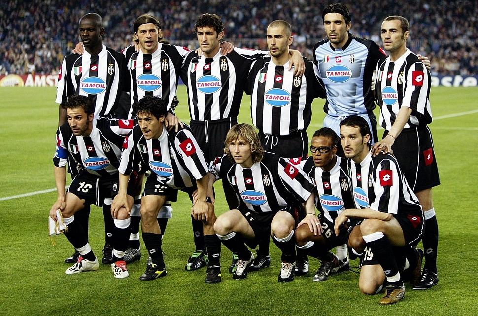 Форма Ювентуса в сезоне 2002-2003