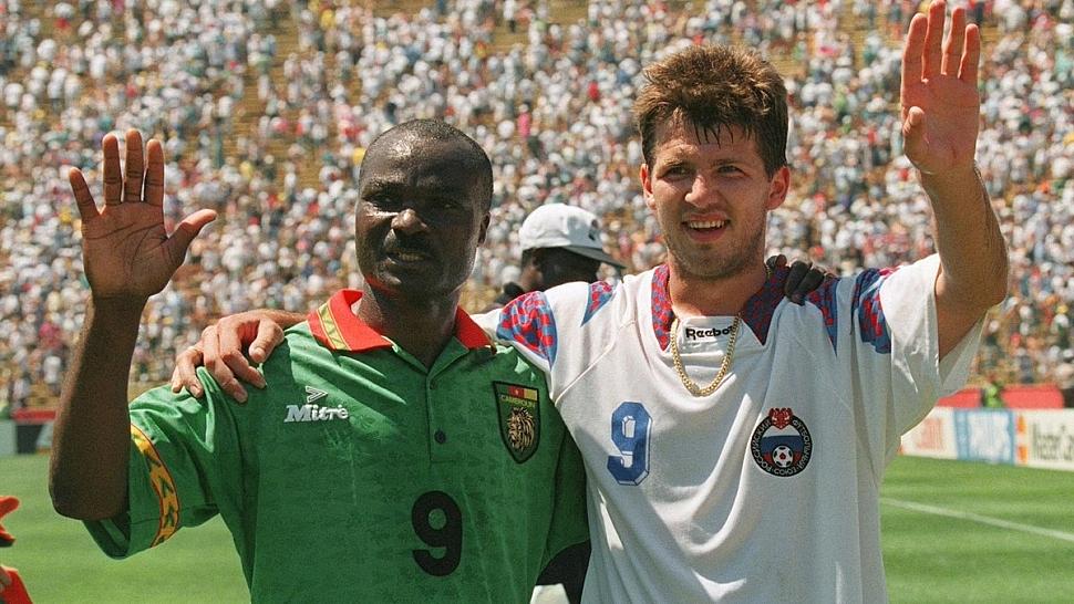 Россия - Камерун 1994 год