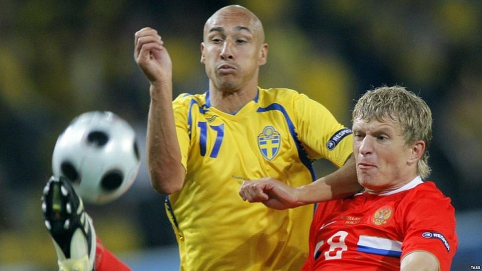 Россия - Швеция Евро-2008