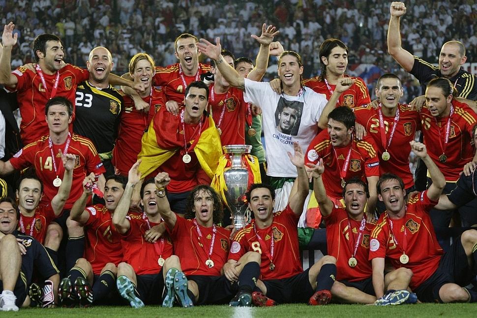 Сборная Испании Чемпионат Европы 2008