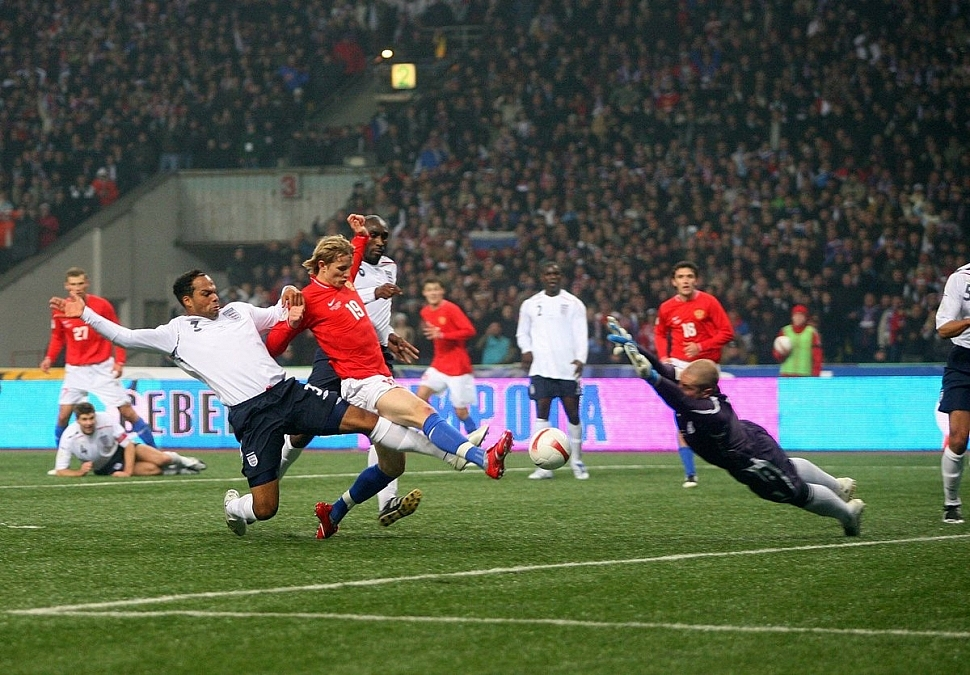 Россия – Англия Отборочный матч к Евро 2008