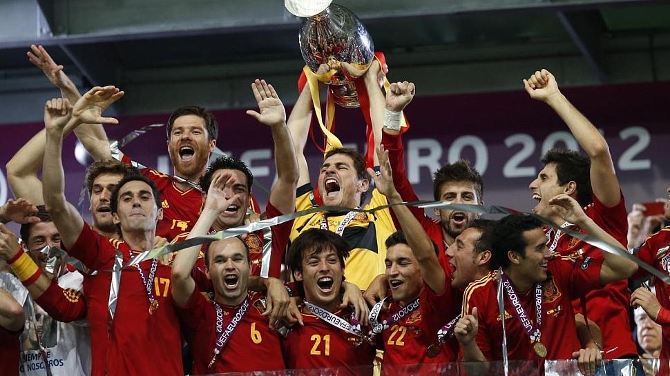 Сборная Испании Чемпионат Европы 2012