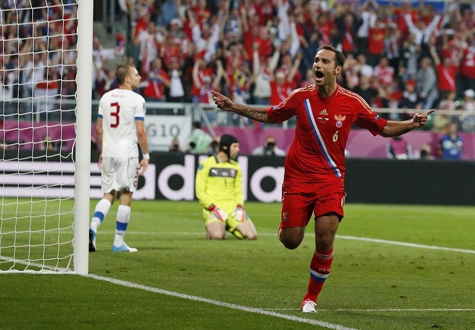 Россия - Чехия Евро-2012