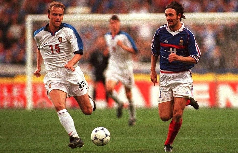 Россия - Франция Отбор к Евро-2000