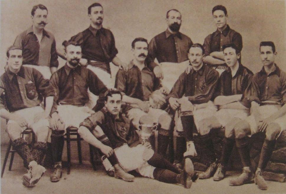 Первый состав Барселоны 1899 год