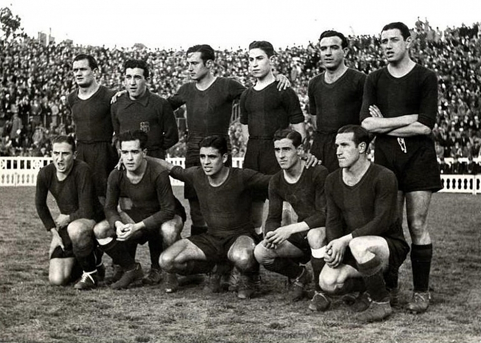 Состав Барселоны 1939 год