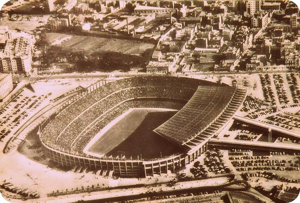 "Стадион ""Камп Ноу"" 1957 год"