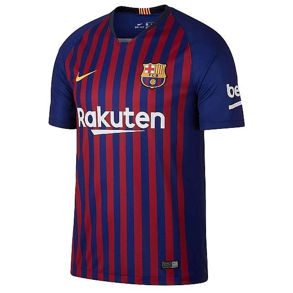 Новая домашняя форма Барселоны 2018/2019