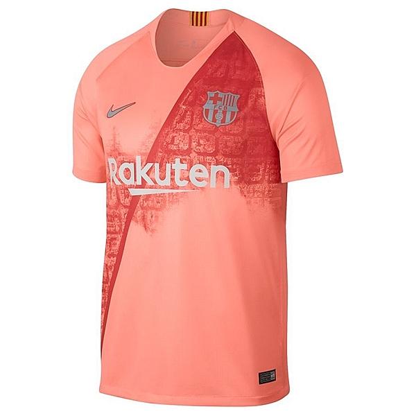 Новая третья форма Барселоны 2018/2019