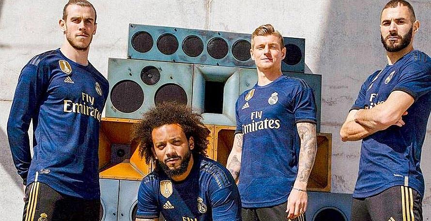 Гостевая форма Реал Мадрид 2019/2020
