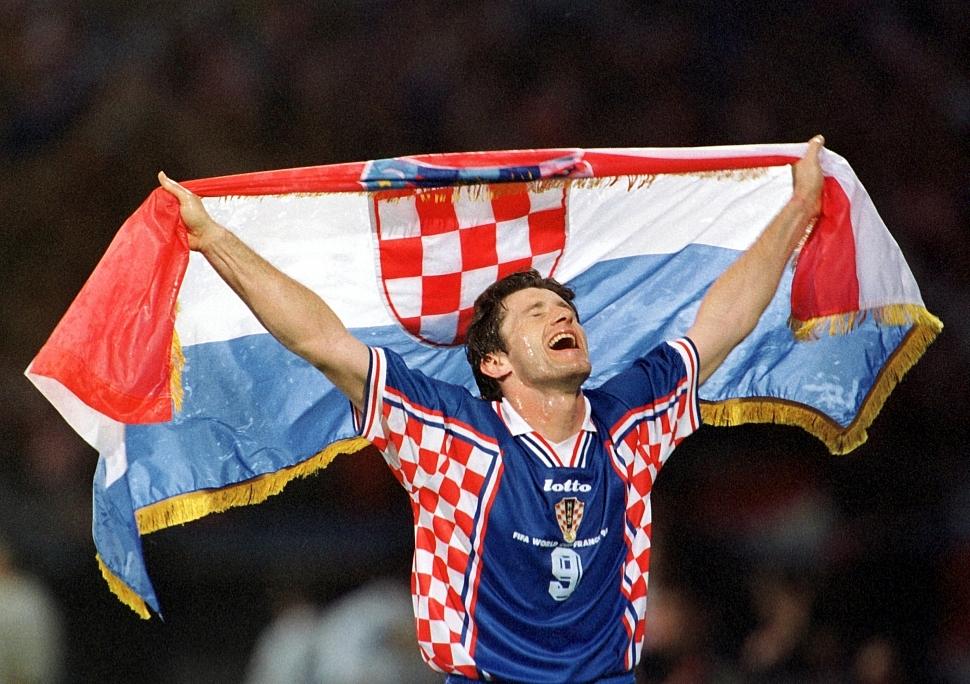 Давор Шукер легендарный хорватский нападающий