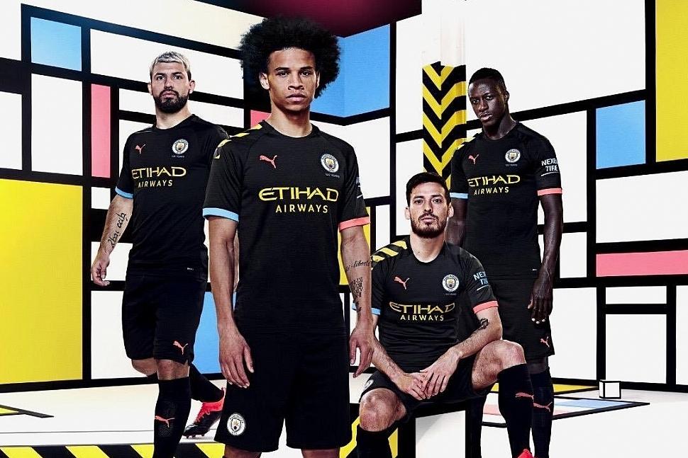 Гостевая форма Манчестер Сити 2019/2020