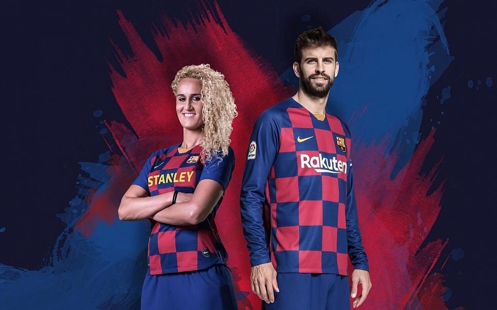 Домашняя форма Барселоны 2019/2020