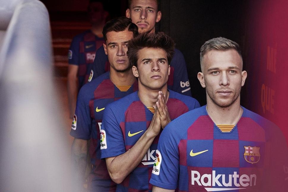 футбольная форма Барселоны 2019 2020