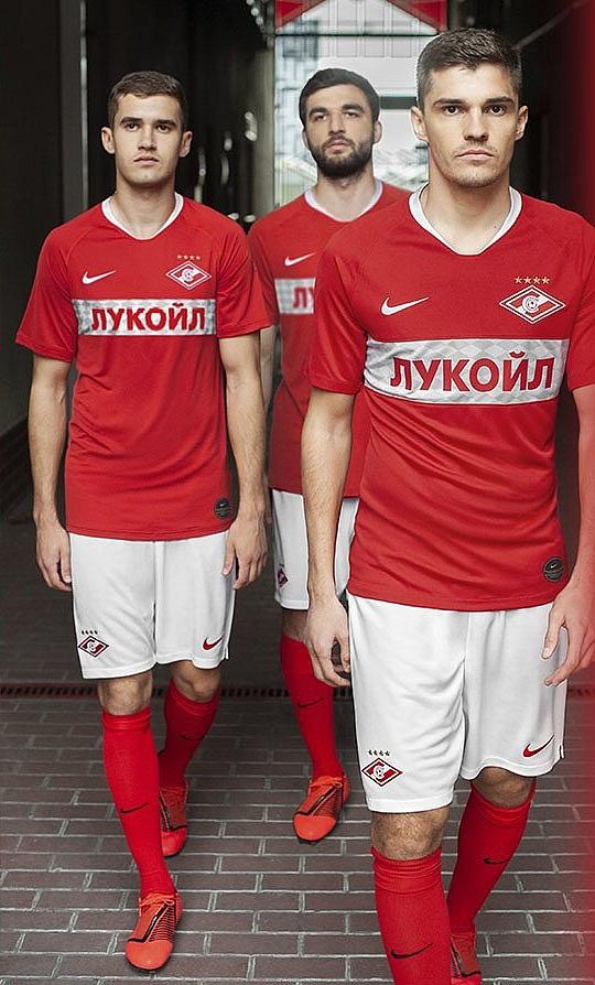 Новая домашняя форма Спартака 2019/202