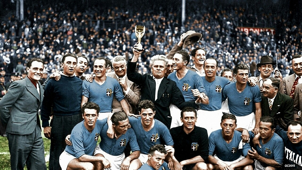 Италия чемпион мира 1938