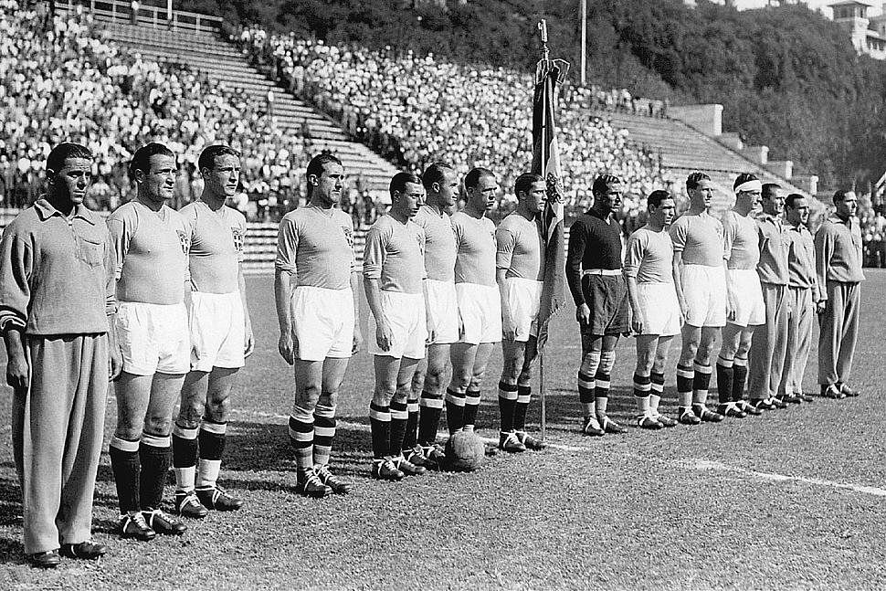 Чемпионат мира 1934 сборная Италия