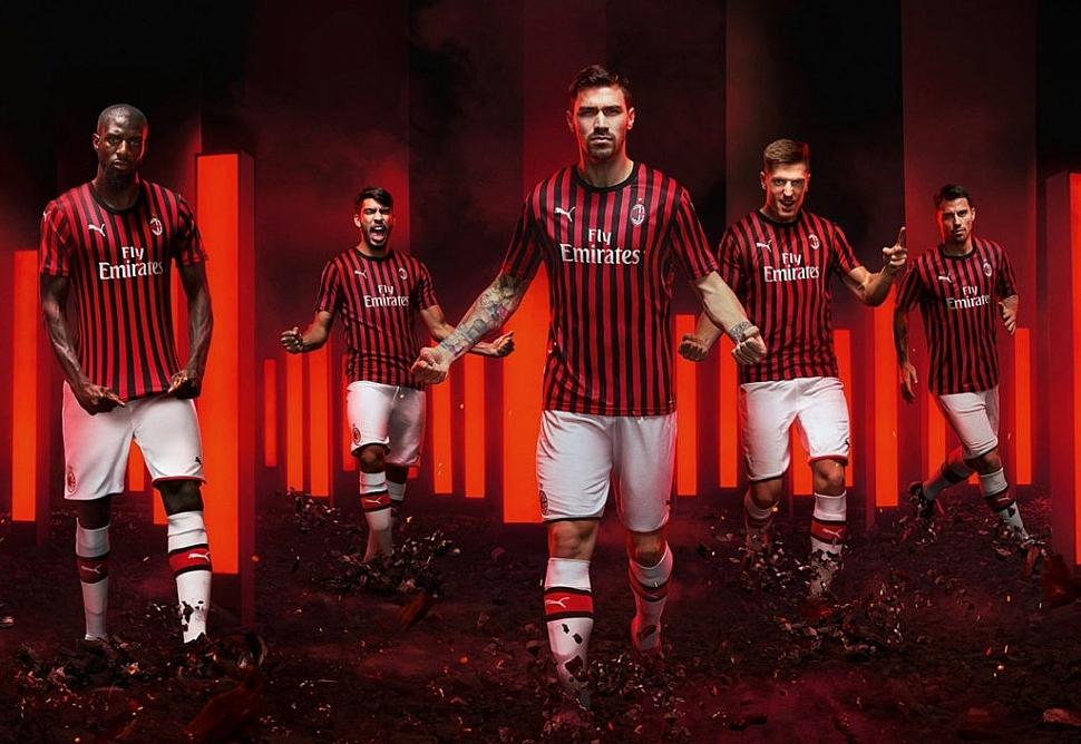 Новая домашняя форма Милана 2019/2020