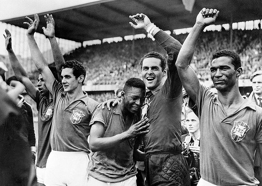 Сборная Бразилии Чемпионат мира по футболу 1958