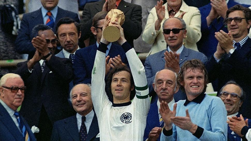 Сборная Германии Чемпионы мира по футболу 1974