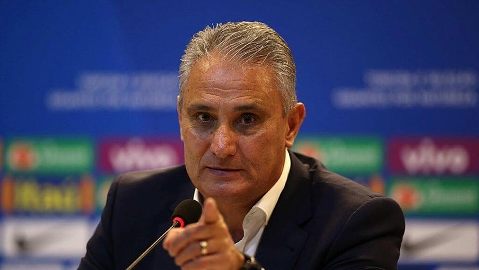 Тите тренер Бразилии