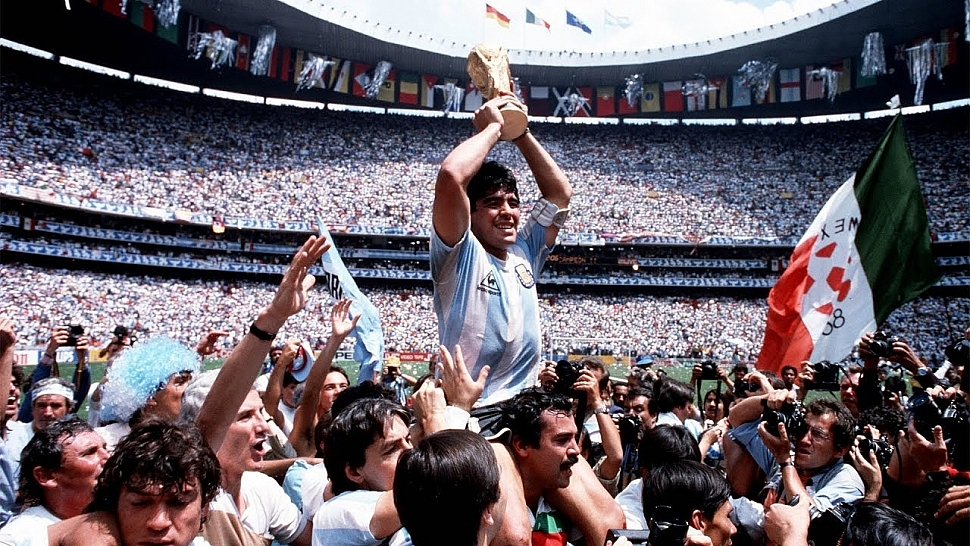 Марадона на ЧМ 1986