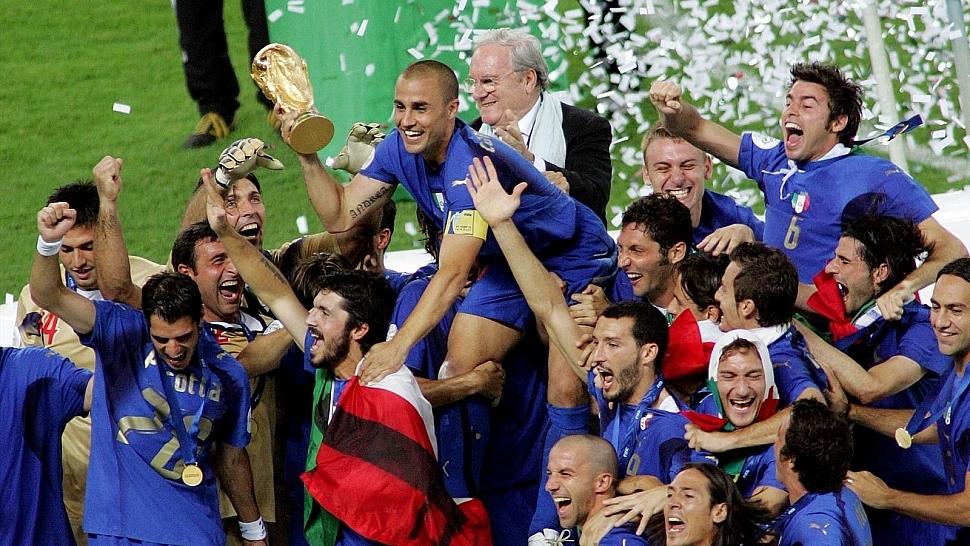 Сборная Италии Чемпионы мира по футболу 2006