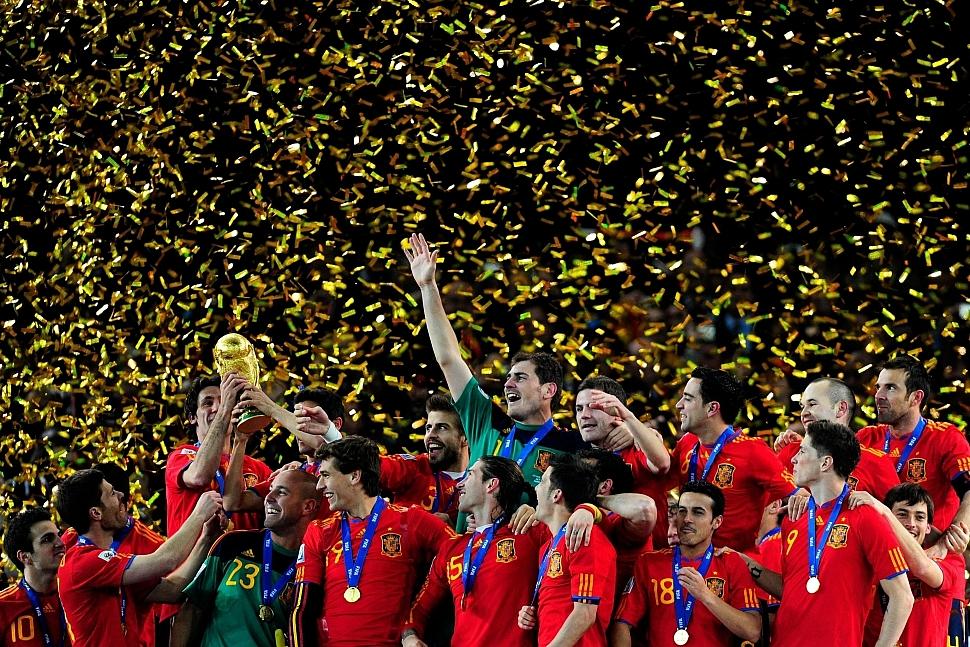 Испания чемпион мира по футболу 2010