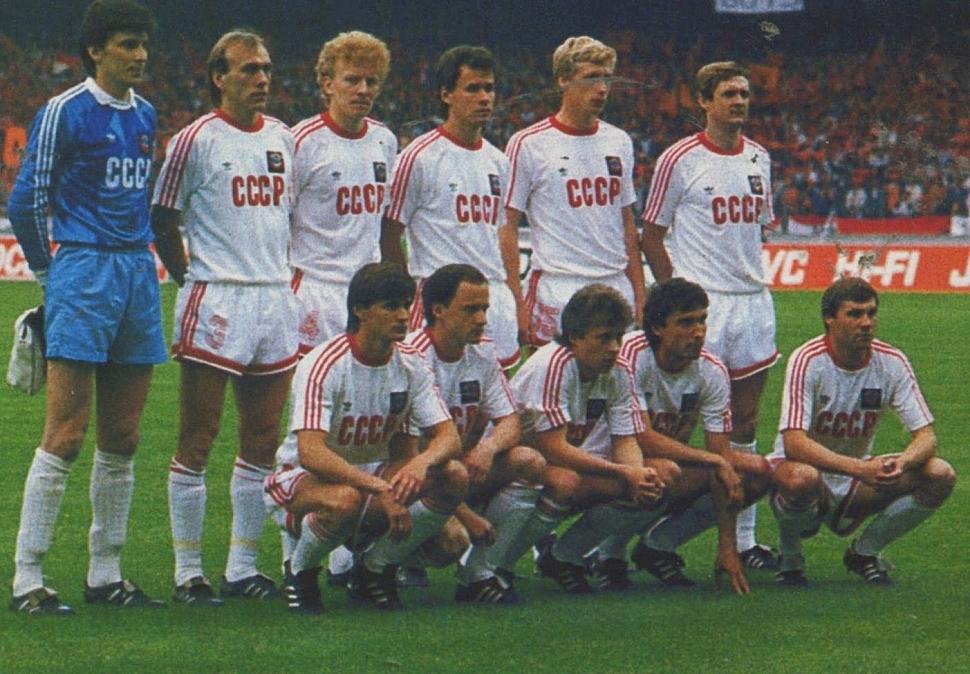 Сборная СССР Чемпионат Европы 1988