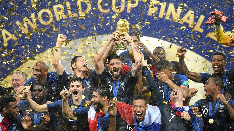 Франция чемпион мира по футболу 2018