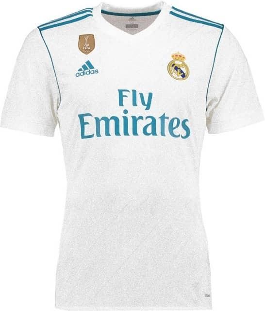 Форма игрока футбольного клуба Реал Мадрид Хесус Вальехо (Jesus Vallejo)  2017 2018 ( 89a4bcd448e