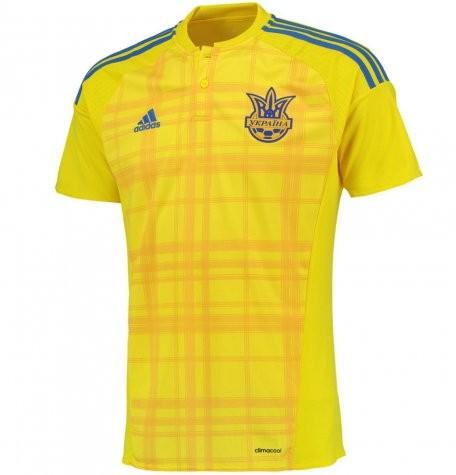 Форма сборной Украины по футболу 2016/2017 (комплект: футболка + шорты + гетры)