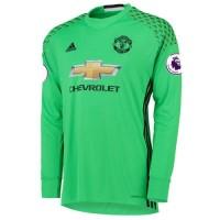 aafa7177 Men's soccer goalkeeper form Manchester United 2016/2017 Away (set: T-shirt