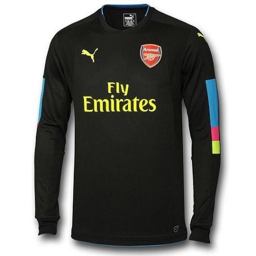 Мужская форма голкипера футбольного клуба Арсенал 2016 2017 Домашняя  (комплект  футболка + шорты cc9c291a7a6