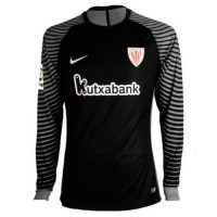 A forma masculina do guarda-redes do clube de futebol Athletic Bilbao 2016/2017 Inicio (conjunto: T-shirt + short + leggings)