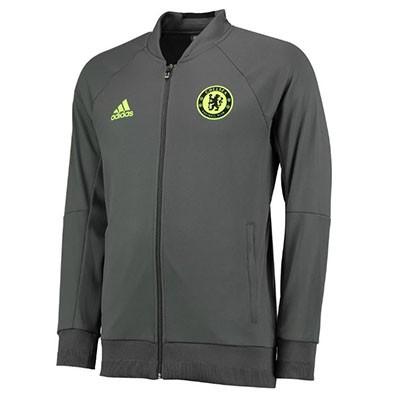 Спортивный костюм футбольного клуба Челси серый (комплект  олимпийка +  спортивные брюки) 055f8deab6b