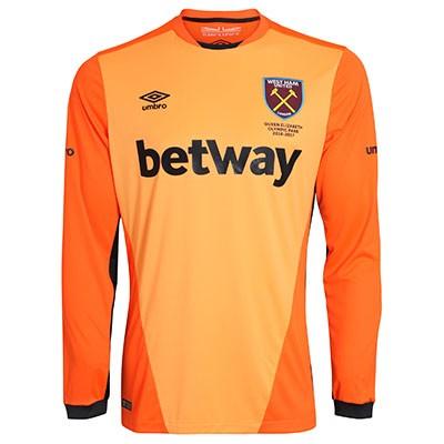 Купить Мужская футболка голкипера футбольного клуба Вест Хэм Юнайтед ... 8fc0215f1ee