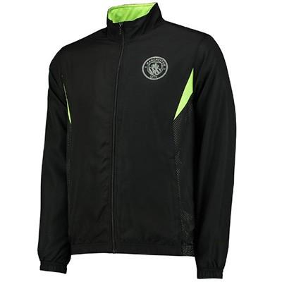 Спортивный костюм футбольного клуба Манчестер Сити черный (комплект   олимпийка + спортивные брюки) 9bae4a168a6