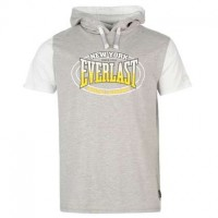 Футболка Everlast Mock Layer с капюшоном Grey