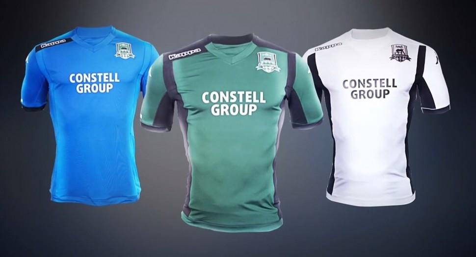Купить Детская футболка футбольного клуба Краснодар 14 15 по цене 2 ... 42d2a9c84de