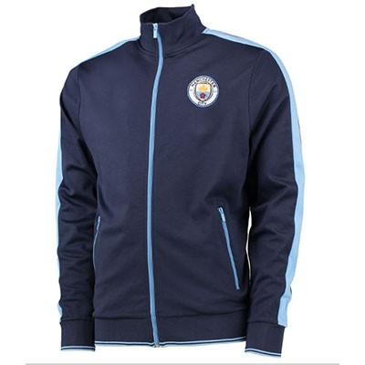 Купить Олимпийка футбольного клуба Манчестер Сити синяя по цене 3 ... c42b3f77573