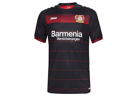 bb755b691ffa Детская форма футбольного клуба Байер 04 Леверкузен 2016 2017 (комплект   футболка + шорты