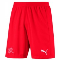 Shorts de l'équipe nationale de football Suisse Coupe du monde 2018