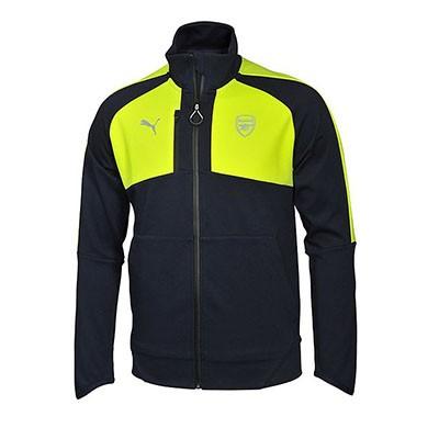 Спортивный костюм футбольного клуба Арсенал черный (комплект  олимпийка +  спортивные брюки) ac5d0100321