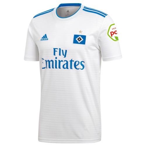 Купить Футболка футбольного клуба Гамбург 2018 2019 Домашняя по цене ... f5b5f220d0d
