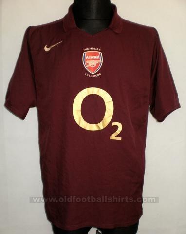 Купить Арсенал майка игровая 2005-2006 по цене 2 990 руб. в интернет ... 7f8b7c0e98f